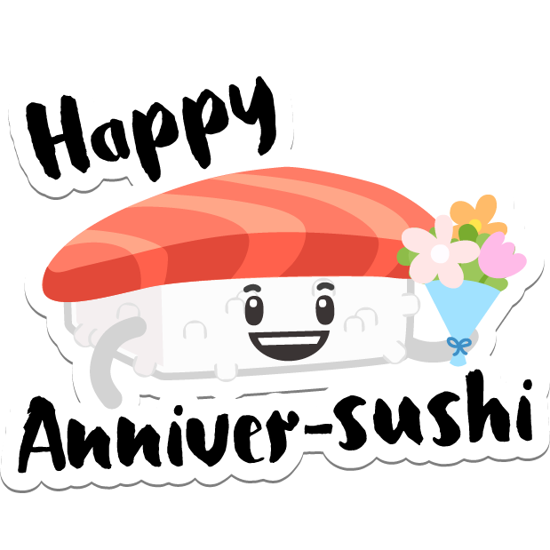 Sushi Stickers for iMessage messages sticker-7