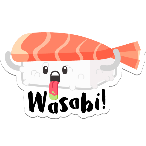 Sushi Stickers for iMessage messages sticker-8