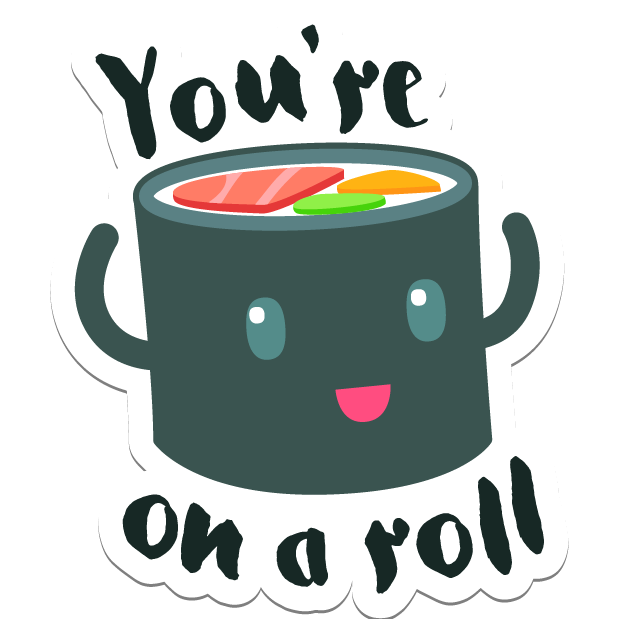 Sushi Stickers for iMessage messages sticker-0