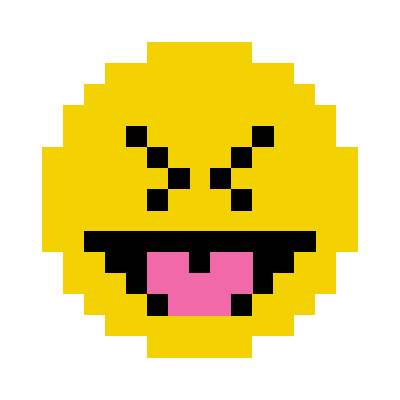 Animated Pixel Emoji messages sticker-11