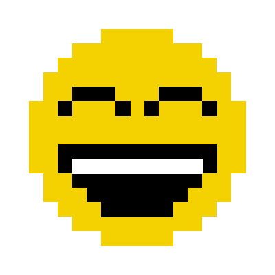 Animated Pixel Emoji messages sticker-1