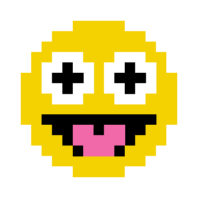 Animated Pixel Emoji messages sticker-0