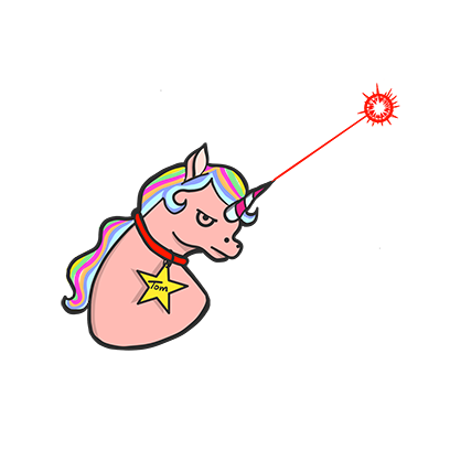 Tom, the Unicorn messages sticker-6
