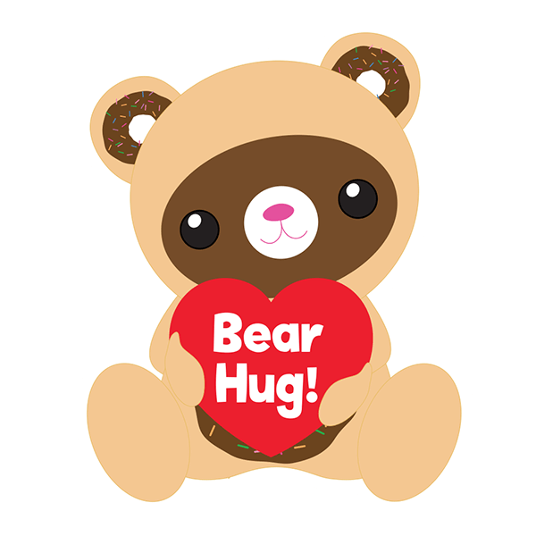 Beary Sweet Stickers messages sticker-1