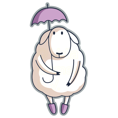 Baa the Sheep – Farm Animal Stickers for iMessage messages sticker-7