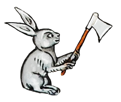 Medieval Rabbit Stickers messages sticker-6