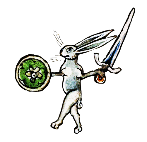 Medieval Rabbit Stickers messages sticker-10