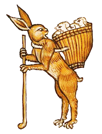 Medieval Rabbit Stickers messages sticker-7