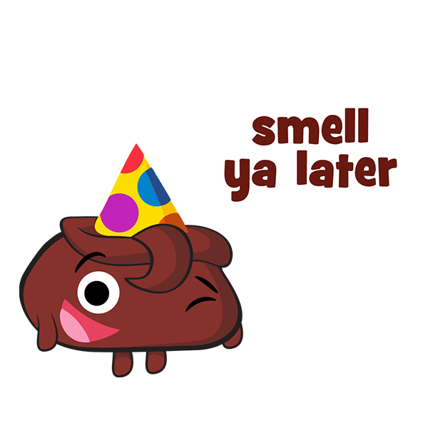 Poopeez Stickers messages sticker-10