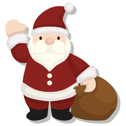 Merry Christmas – Santa Stickers for iMessage messages sticker-5