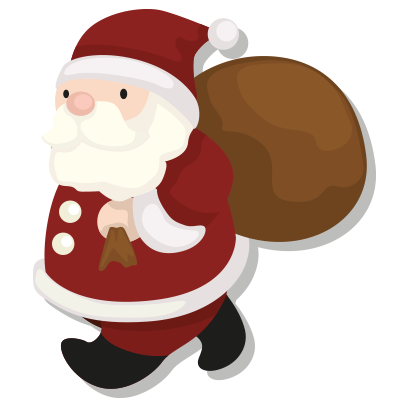 Merry Christmas – Santa Stickers for iMessage messages sticker-8