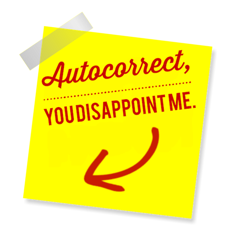 Blame Autocorrect! messages sticker-9