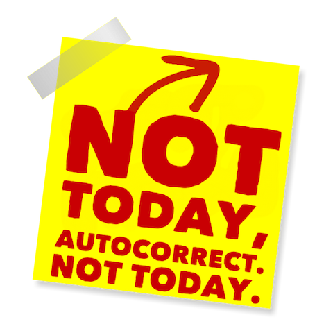 Blame Autocorrect! messages sticker-1