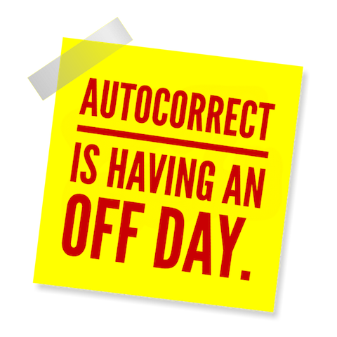 Blame Autocorrect! messages sticker-4