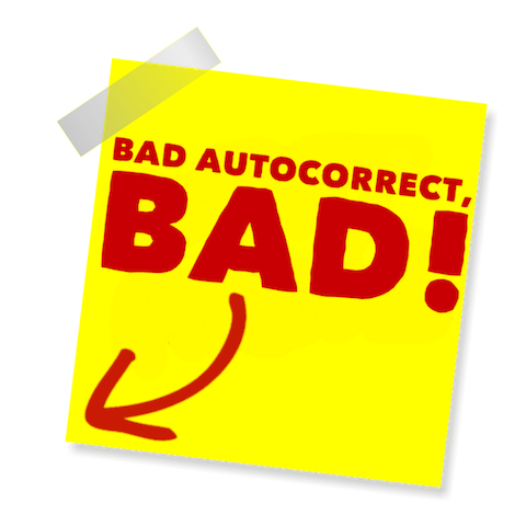 Blame Autocorrect! messages sticker-10
