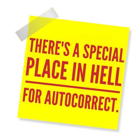 Blame Autocorrect! messages sticker-7