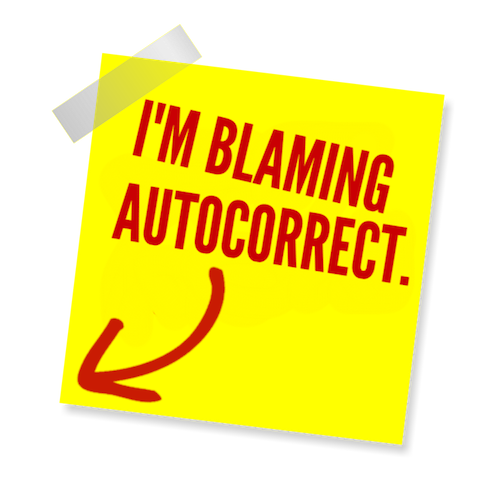 Blame Autocorrect! messages sticker-2