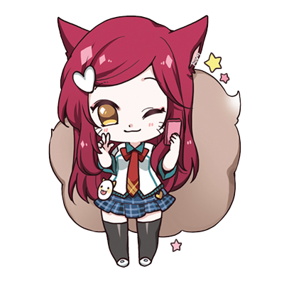 Chibi Girl Emoji - Sticker messages sticker-7