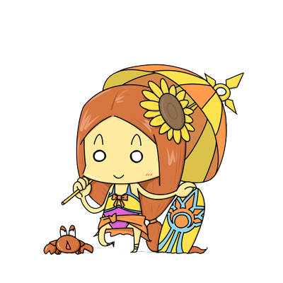 Chibi Girl Emoji - Sticker messages sticker-1