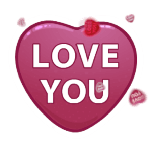 Hearts - Animated Stickers messages sticker-0