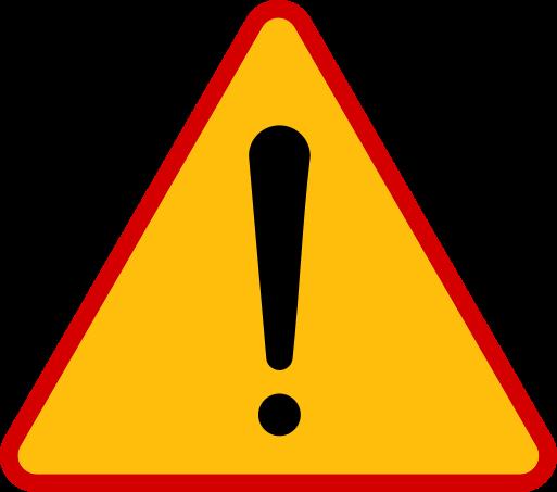 Znaki ostrzegawcze messages sticker-2