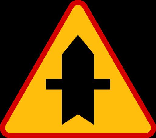 Znaki ostrzegawcze messages sticker-6