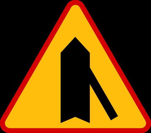 Znaki ostrzegawcze messages sticker-9