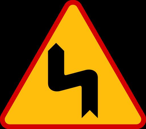 Znaki ostrzegawcze messages sticker-4
