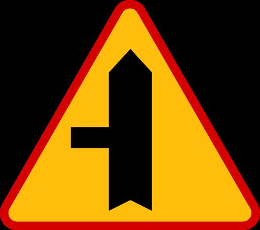 Znaki ostrzegawcze messages sticker-8