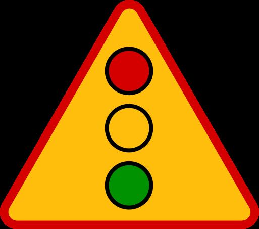 Znaki ostrzegawcze messages sticker-1