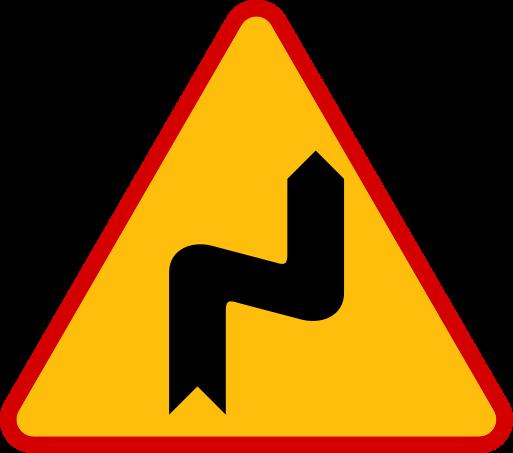 Znaki ostrzegawcze messages sticker-3