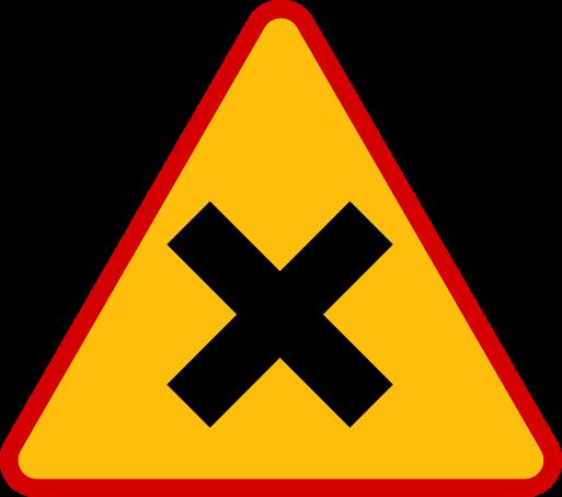 Znaki ostrzegawcze messages sticker-5