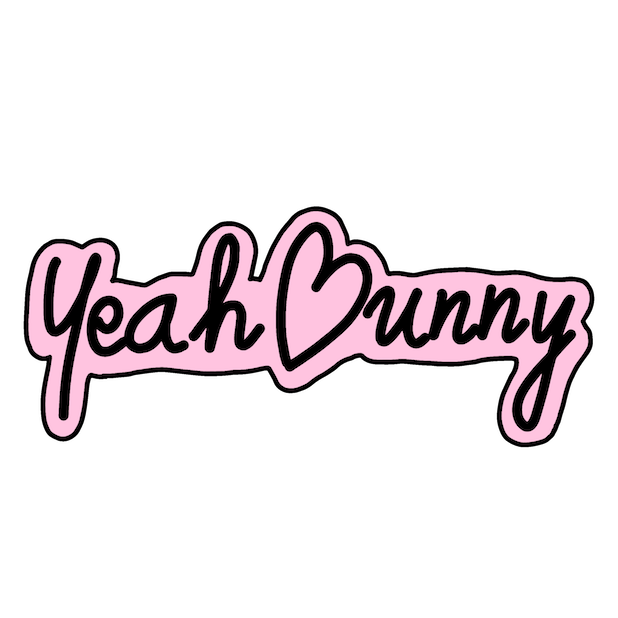 Yeah Bunny Starter messages sticker-0