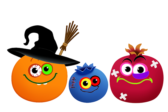 Halloween Funny Food! Animated sticker pack free messages sticker-11