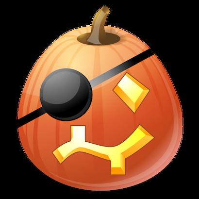 Pumpkin Halloween Emoji Sticker #10 messages sticker-9
