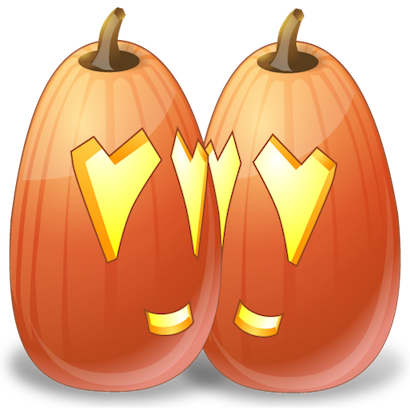 Pumpkin Halloween Emoji Sticker #10 messages sticker-5
