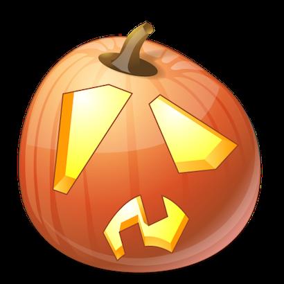 Pumpkin Halloween Emoji Sticker #10 messages sticker-3