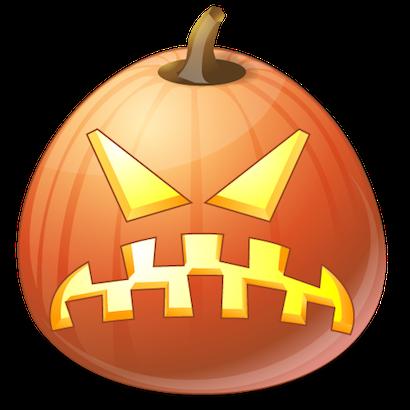 Pumpkin Halloween Emoji Sticker #10 messages sticker-1