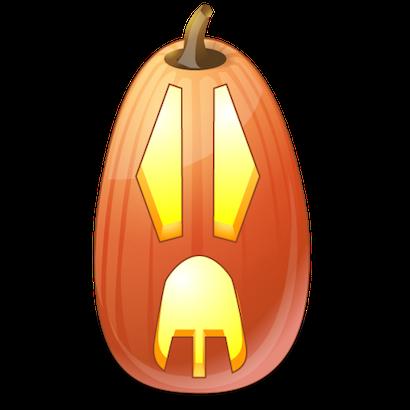 Pumpkin Halloween Emoji Sticker #10 messages sticker-6