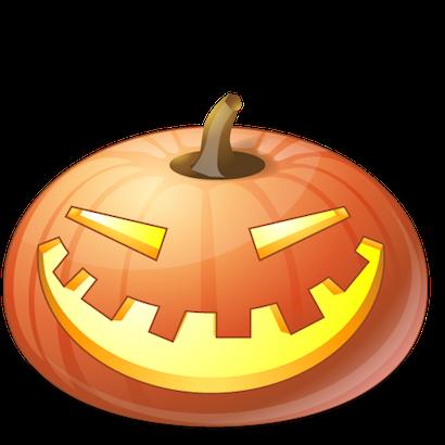 Pumpkin Halloween Emoji Sticker #10 messages sticker-0