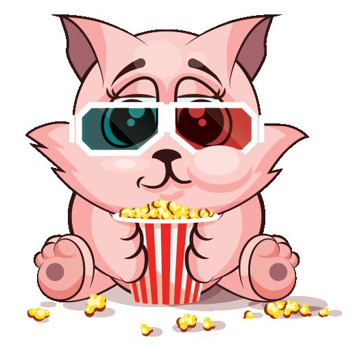 Feline Sticker Pack for iMessage - Tiger & Kitty messages sticker-2