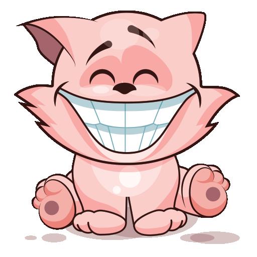 Feline Sticker Pack for iMessage - Tiger & Kitty messages sticker-0