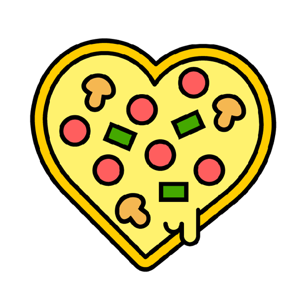 I Love Pizza Sticker Pack messages sticker-3