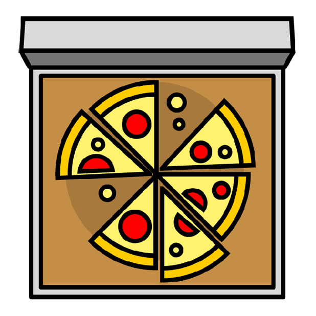 I Love Pizza Sticker Pack messages sticker-8