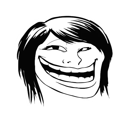 Troll Face Stikers Pack for iMessage messages sticker-11
