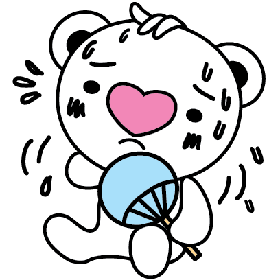 Heartbear, the Messenger of Love - Mango Sticker messages sticker-11