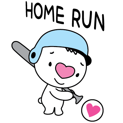 Heartbear, the Messenger of Love - Mango Sticker messages sticker-10
