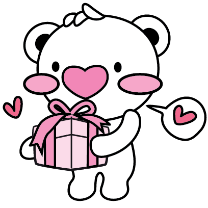 Heartbear, the Messenger of Love - Mango Sticker messages sticker-7
