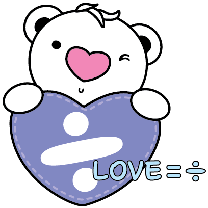 Heartbear, the Messenger of Love - Mango Sticker messages sticker-0
