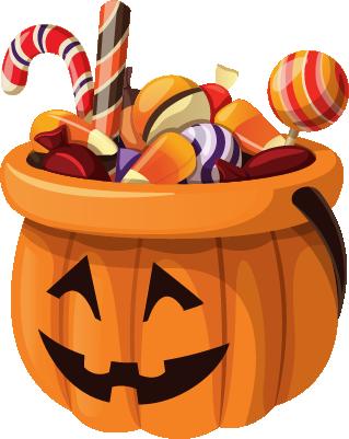 Halloween - Elements messages sticker-4